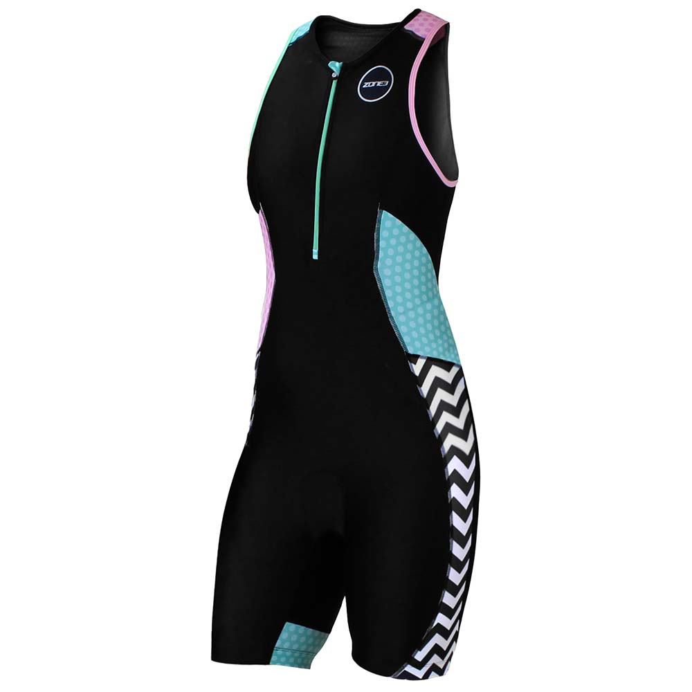 Zone3 Plus Trisuit Zebra Fly