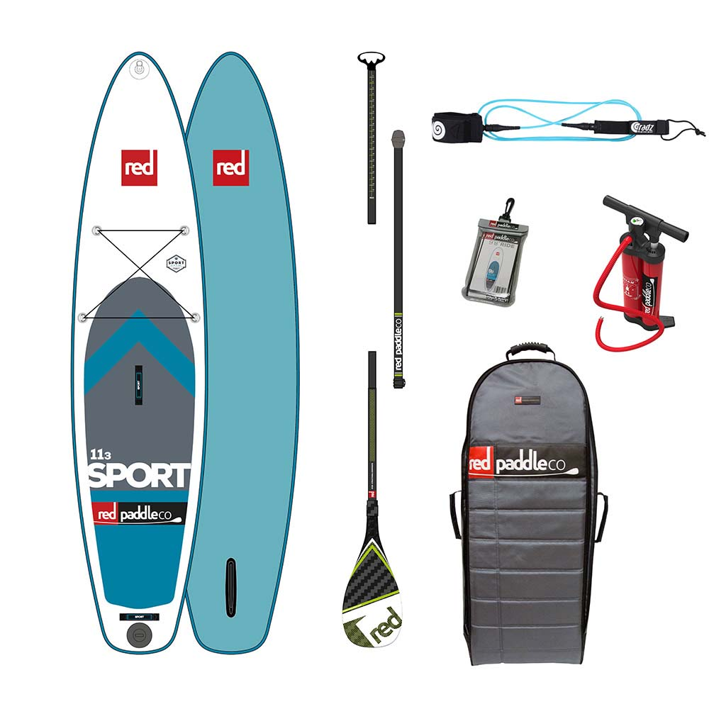 Red paddle co Sport Touring Pack Glass 11´3