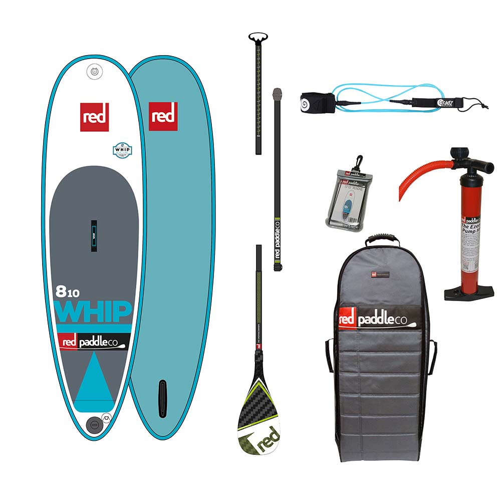 Red paddle co The Whip Surf Pack Glass 8´10