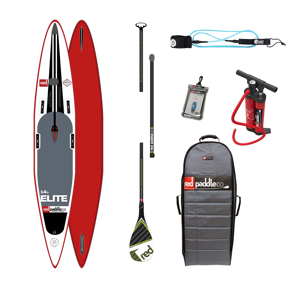 Red paddle co Elite Race Pack Glass 14´0
