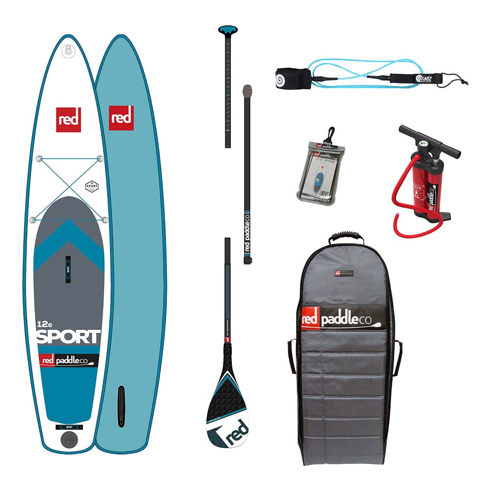 Red paddle co Sport Touring Pack Carbon 12´6