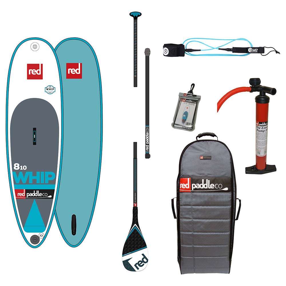 Red paddle co The Whip Surf Pack Carbon 8´10