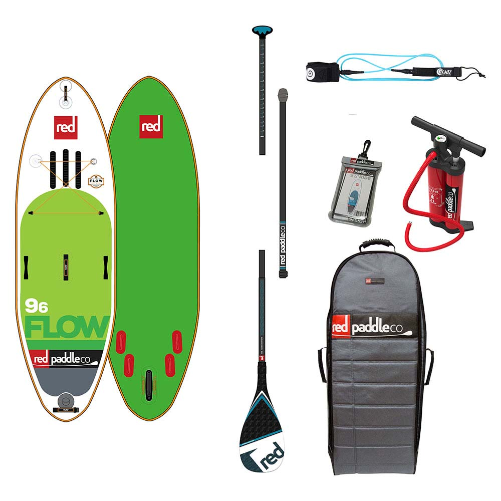 Red paddle co Flow White Water Pack Carbon 9´6