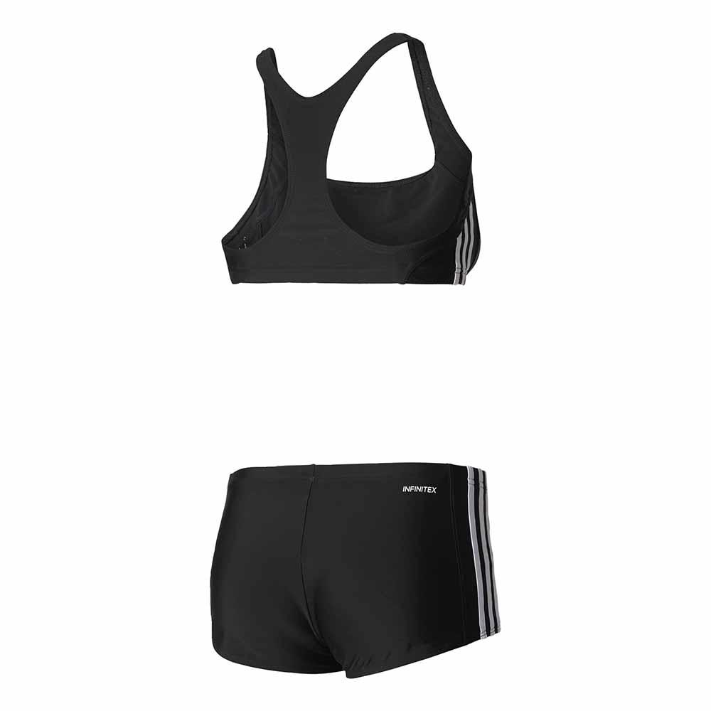 763215e750f adidas Essence Core 3 Stripes 2 Pieces Μαύρο, Swiminn
