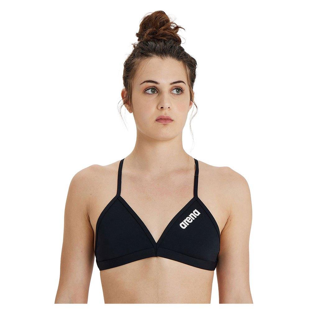Arena Womens Solid Tie Back MaxLife Bikini Top
