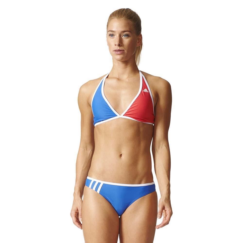b33dab973e21e ... adidas Bwgr1 3 Stripes Halter Neck Bikini ...
