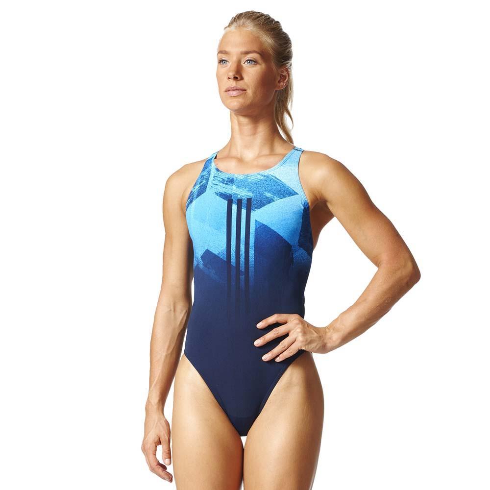 adidas Infinitex 3 Stripes One Piece Swimsuit | One piece