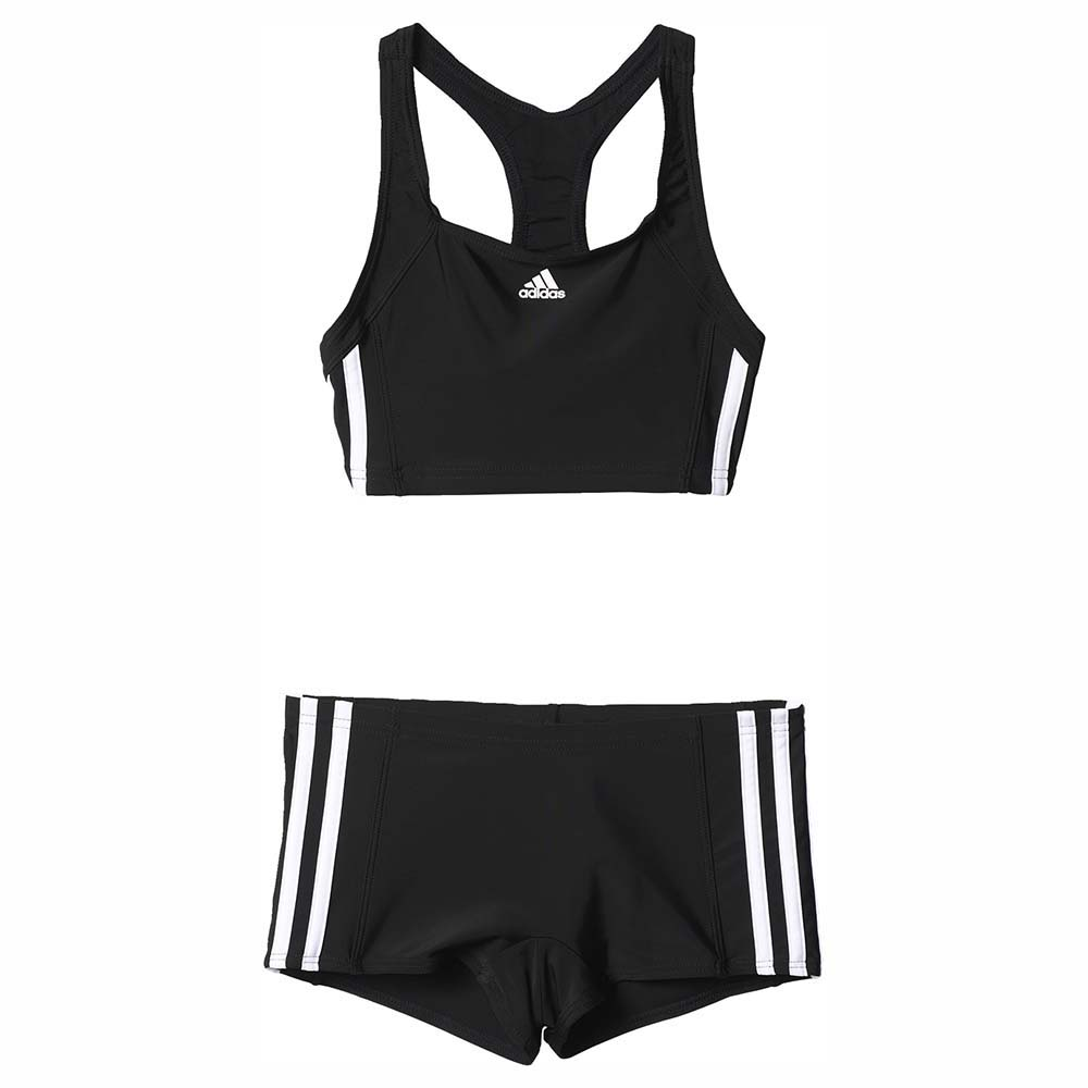 classic fit a few days away top quality adidas Infant Essence Core 3 Stripes 2 pieces Youth Black ...