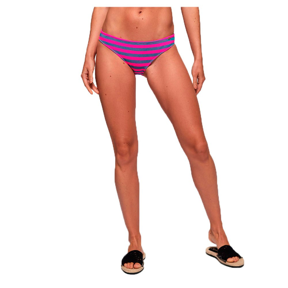 Cali Stripe Bikini Bottom