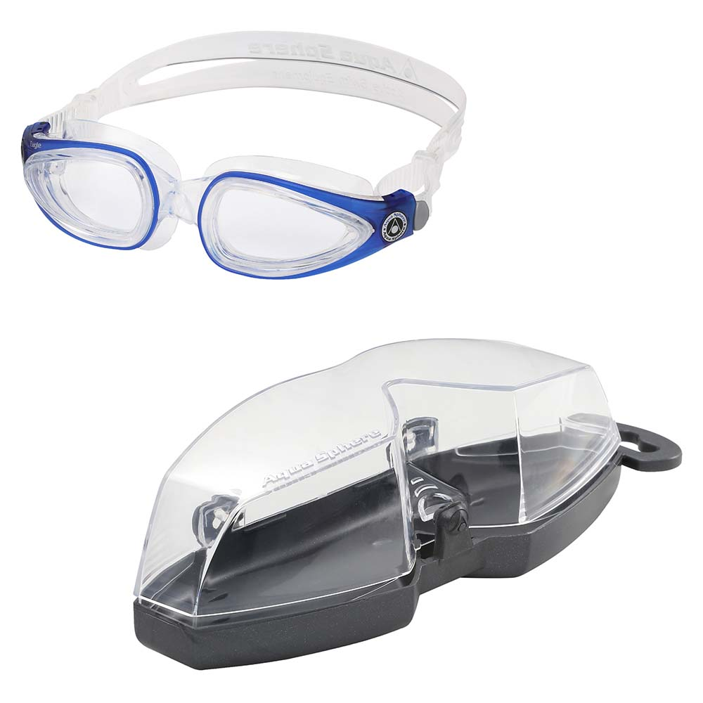 Aqua Sphere Eagle Swimming Goggles interchangeable lenses