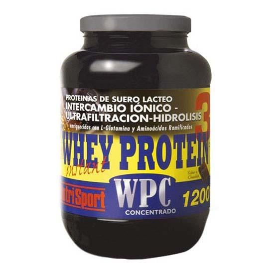 76fe732bd Nutrisport Whey Protein 3 Chocolate Box 1.2kg