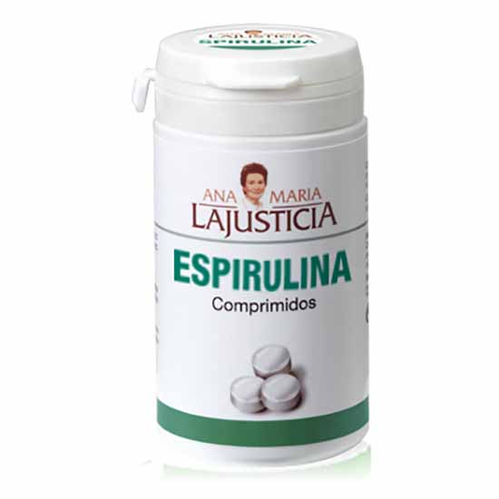 Suplementaci?n deportiva Ana-maria-lajusticia Spirulina 160 Unidades