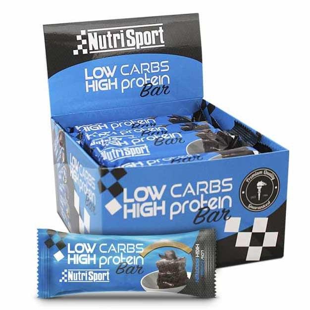 Nutrisport Low Carbs High Protein Bar Brownie 16 Unidades