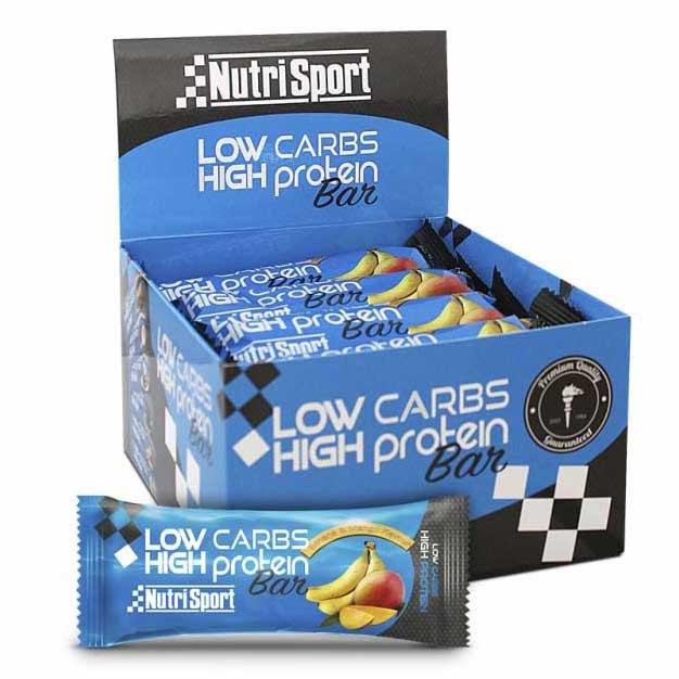 Nutrisport Low Carbs High Protein Bar Pl?tano Y Mango 6 Unidades