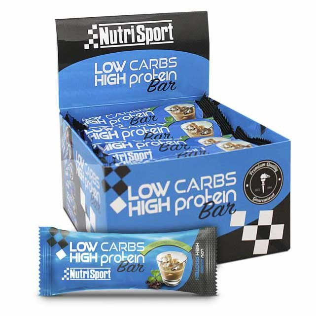 Nutrisport Low Carbs High Protein Bar Irish Crema 16 Unidades