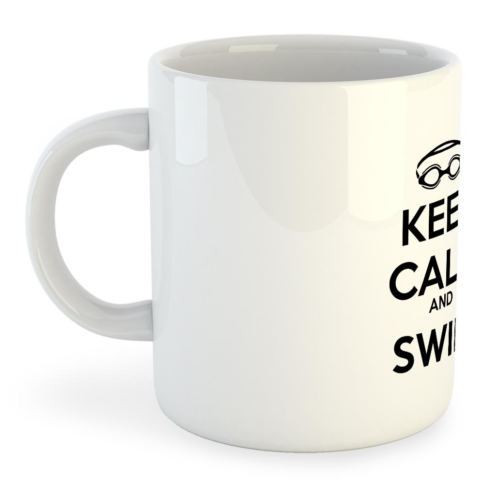 Taza Keep Calm And Swim