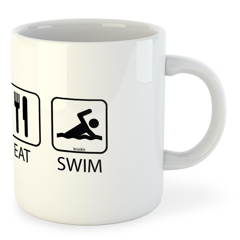 Taza Sleep Eat And Swim