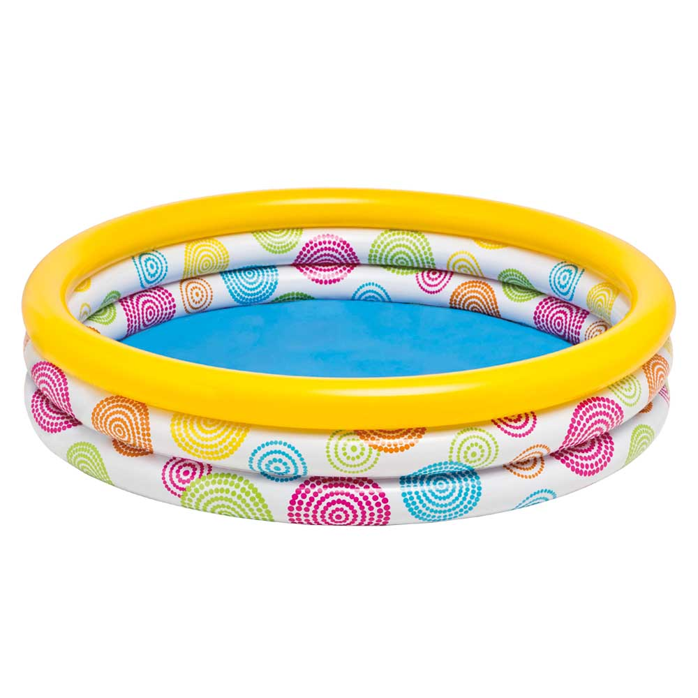 3 Rings Inflable Pool