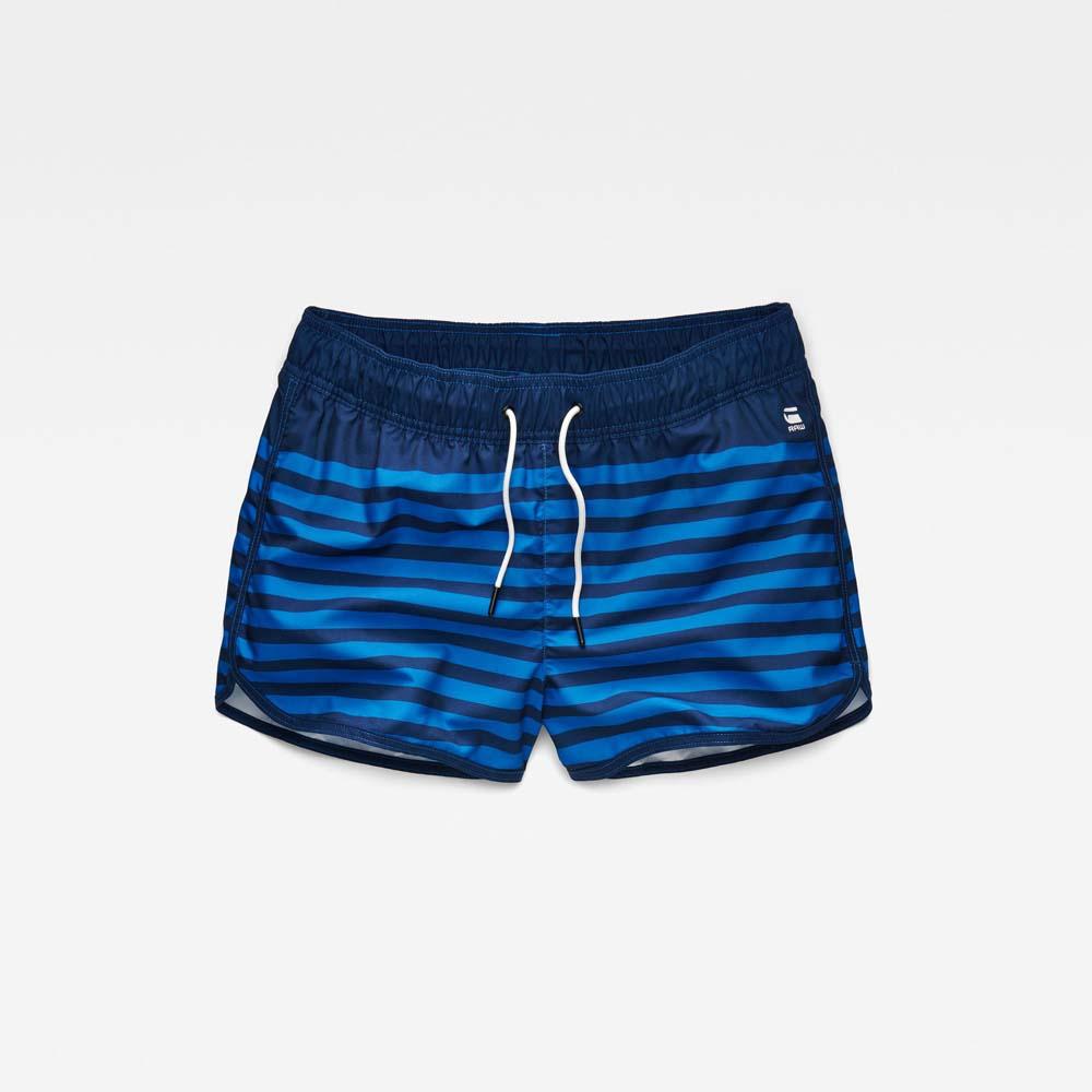 Ba?adores playa G-star Dend Stripe Swimshort Ohna Nylon Stripe Aop