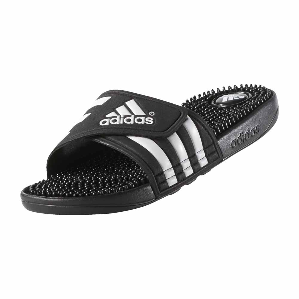 suficiente Viscoso manguera  adidas Adissage Black buy and offers on Swiminn