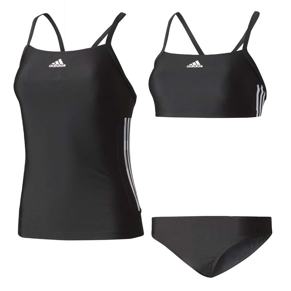 2b42aeb1c0a adidas Infinitex Essence Core 3 Stripes Tankini Μαύρο, Swiminn