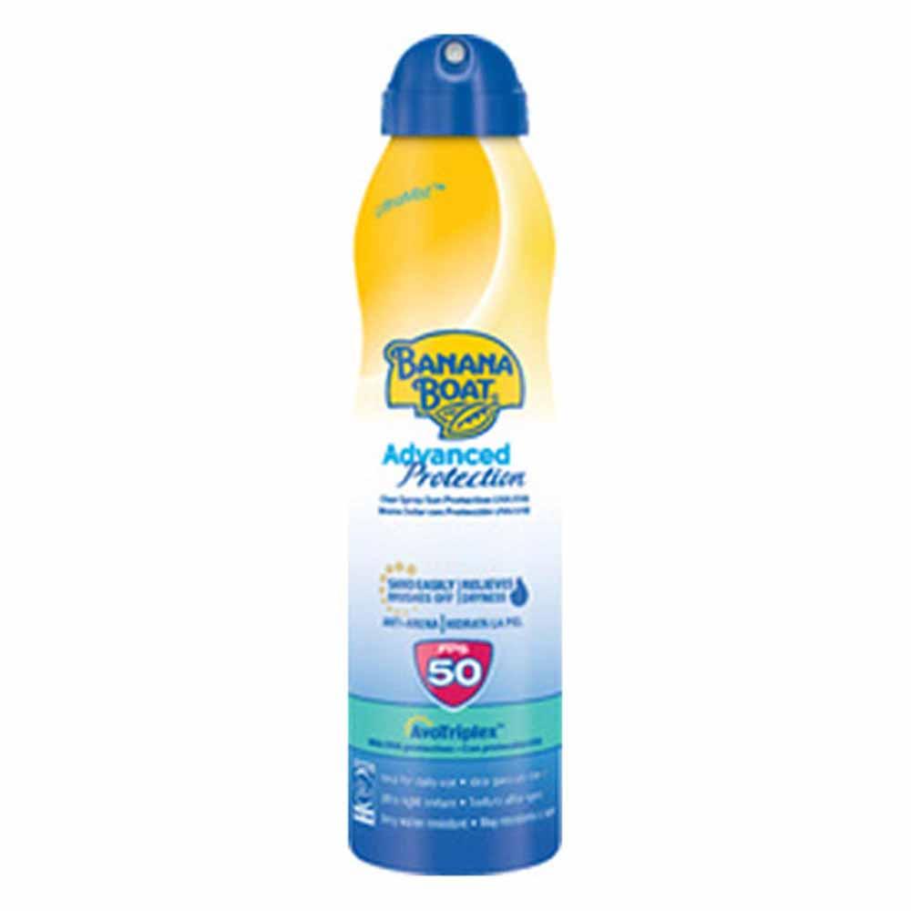 Hawaiian-tropic-fragrances Banana Boat Advanced Protection Spf50 Mist 220ml