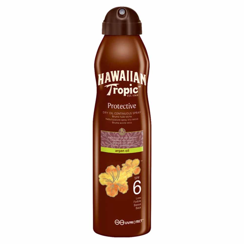 Hawaiian-tropic-fragrances Protective Argan Oil Spf6 177ml