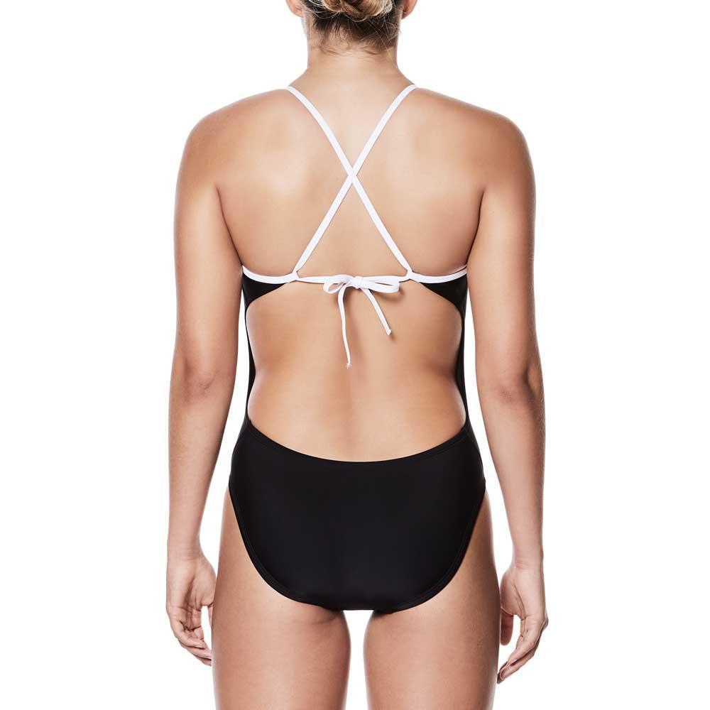 c55f2543527e5 Nike swim Crossback 8071 Musta osta ja tarjouksia, Swiminn Uimapuvut