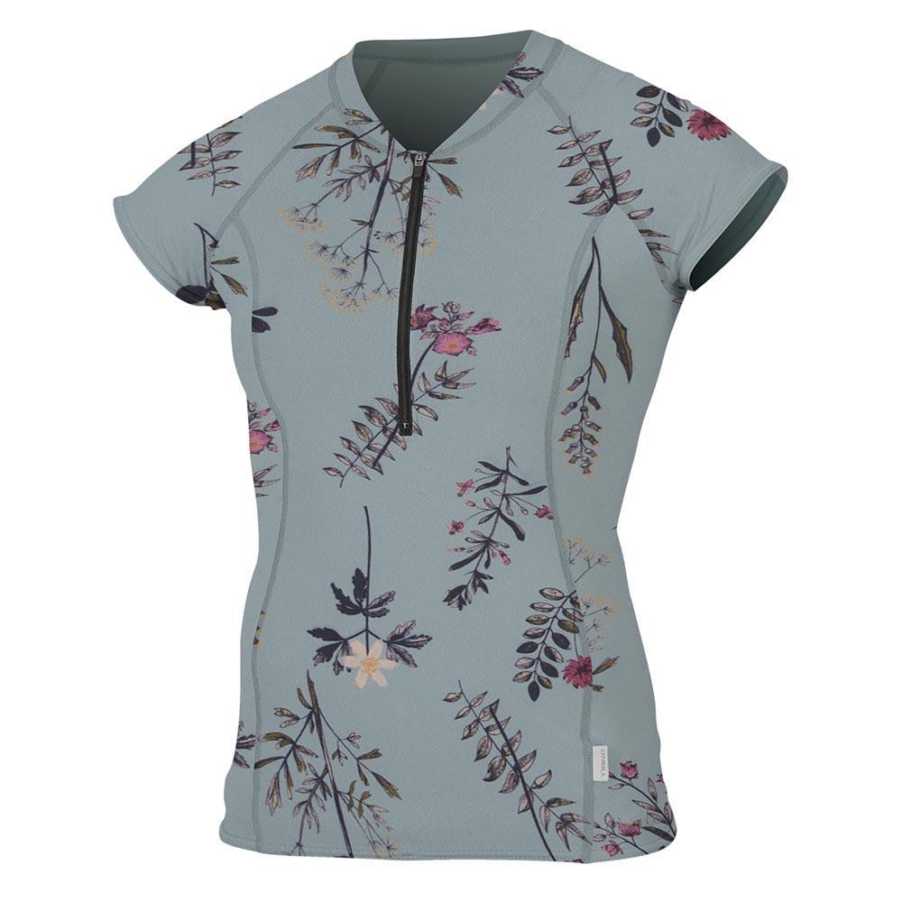 Camisetas Oneill-wetsuits Front Zip Cap Sleeve Sun