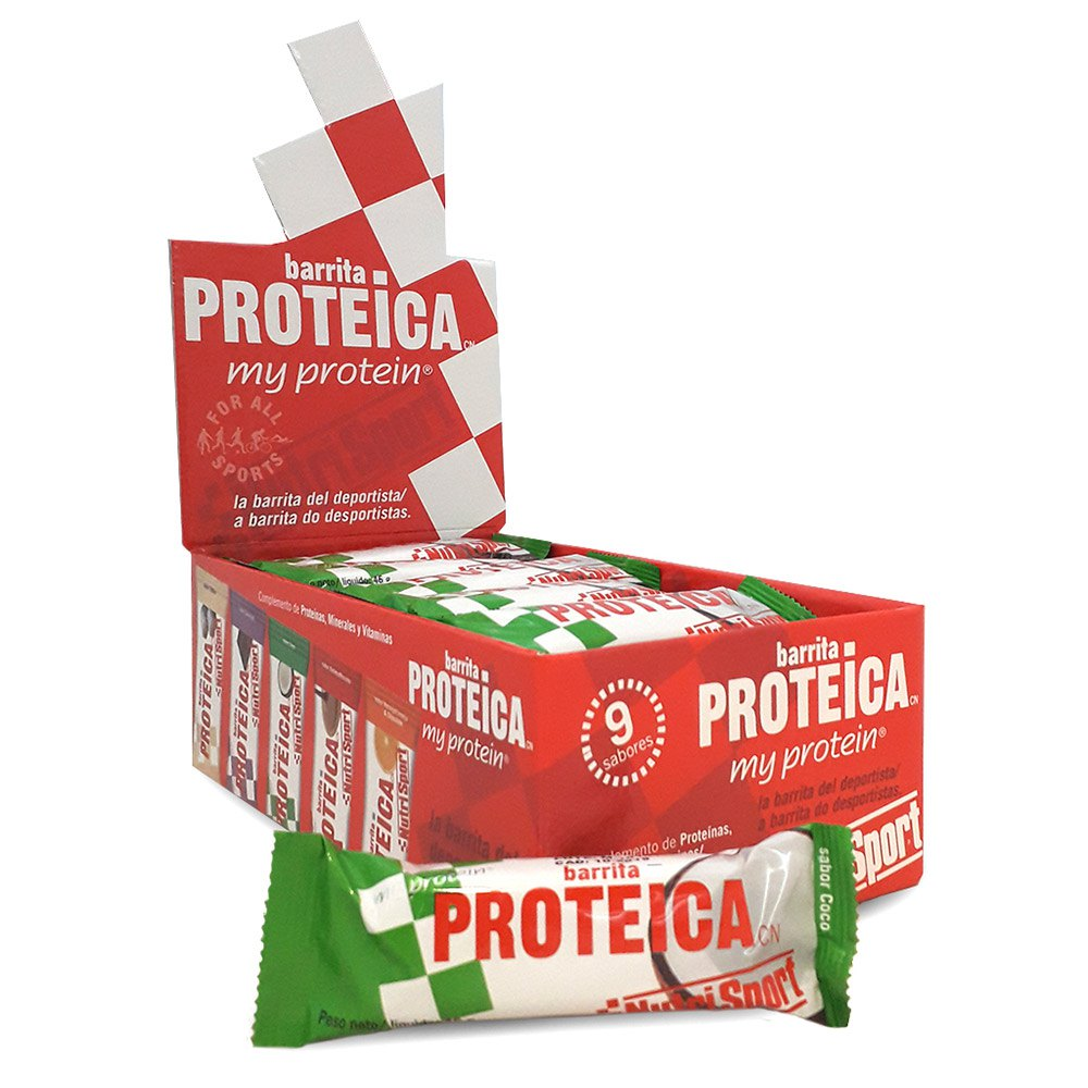 Nutrisport Low Carbs High Protein Coco Bar Caja 16 Unidades