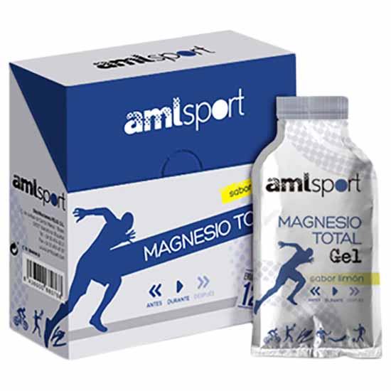 Amlsport Magnestio Totalgrel Lim?n Caja 12 Unidades 20ml