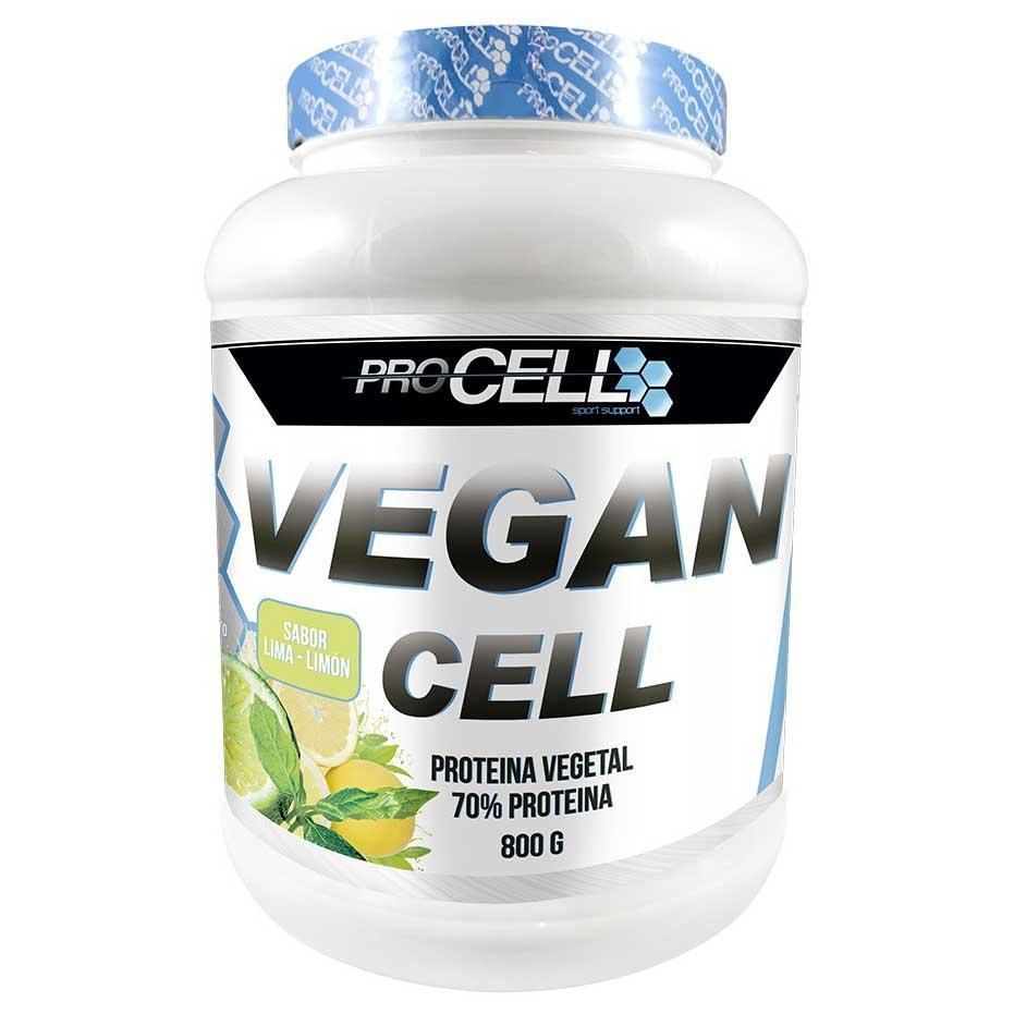 Suplementaci?n deportiva Procell Vegan Protein Lime-lim?n 800gr