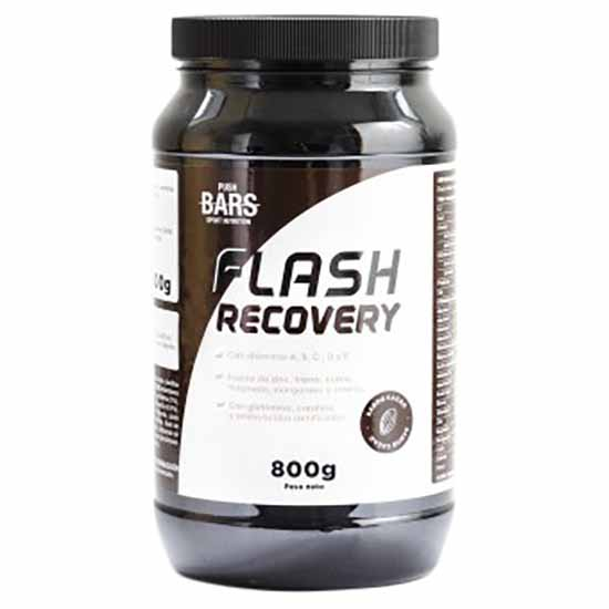Suplementaci?n deportiva Push-bars Flash Recovery Cacao 800gr