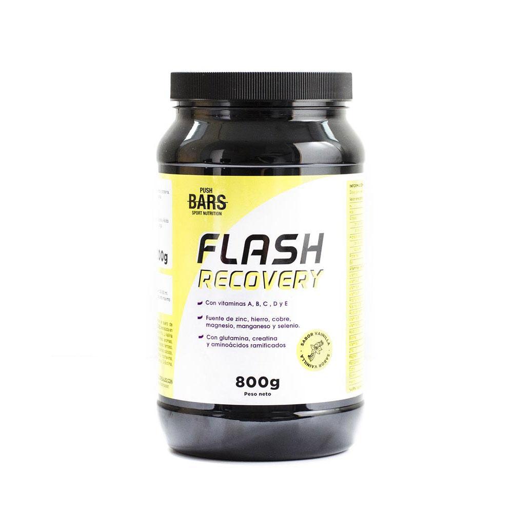 Suplementaci?n deportiva Push-bars Flash Recovery Vanilla 800gr