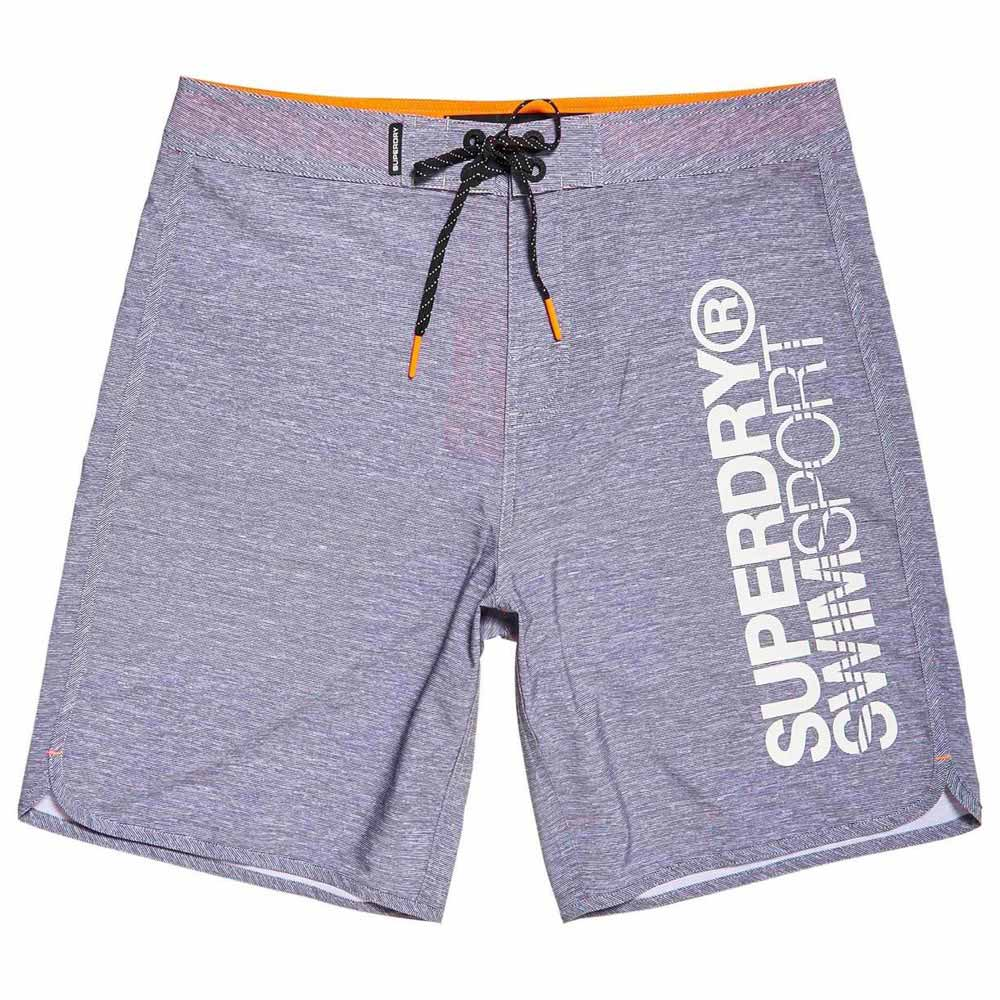 04b2aae9c0dfa Superdry Deep Water Board Short Grey buy and offers on Swiminn