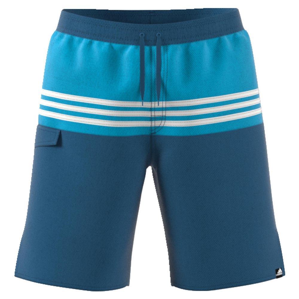 876c5750d2 adidas 3 Stripes Colourblock Blue buy and offers on Swiminn