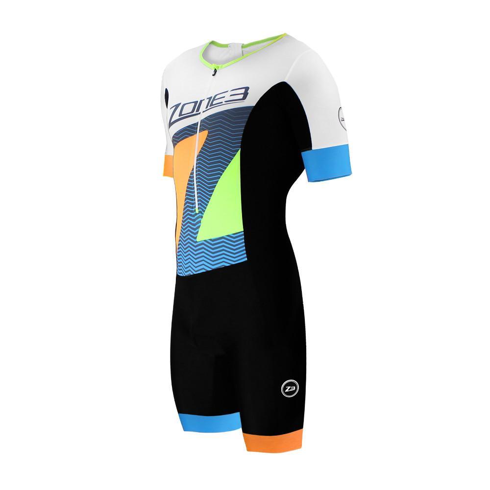 Zone3 Tri top Short sleeve, kortärmad triathlon topp herr