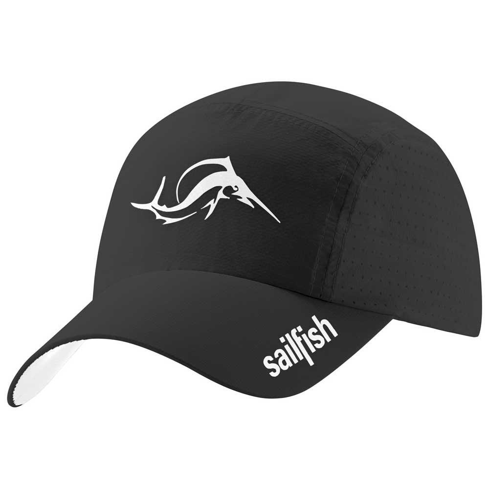 c6f6ac5e6fb713 Sailfish Running Cap Black buy and offers on Swiminn