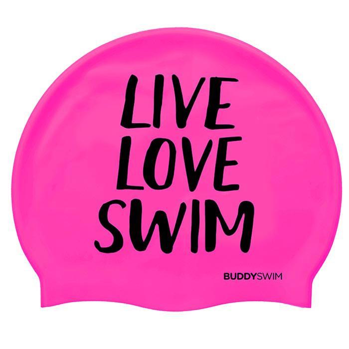 Live Love Swim Silicona