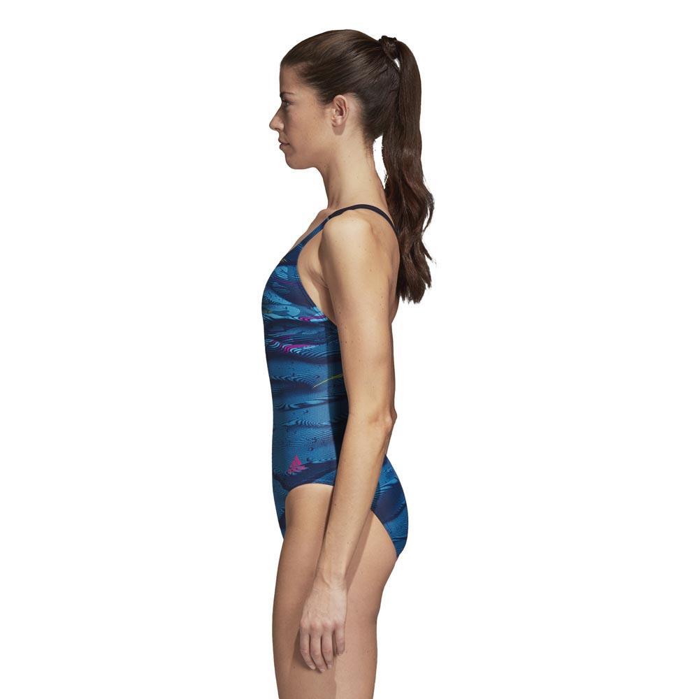 5ddec1c7 adidas Infinitex Fitness Training Parley Commit Blå, Swiminn