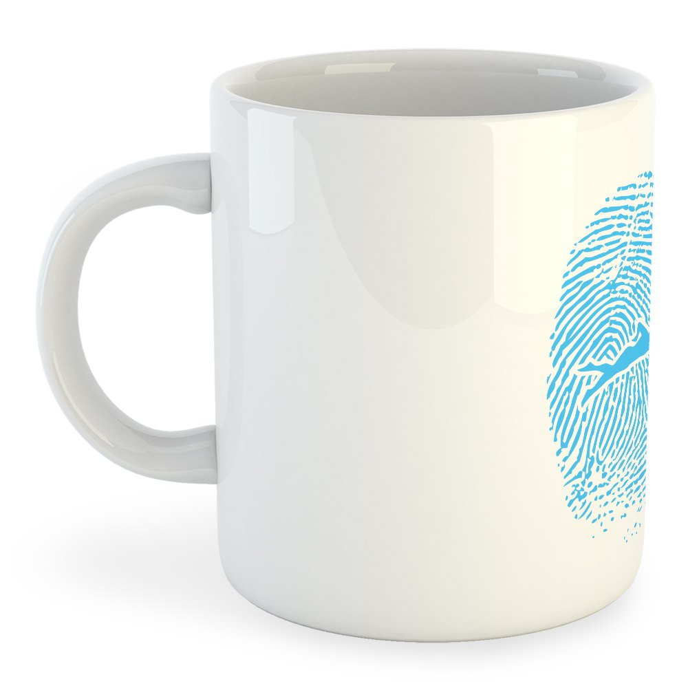 Taza Swimmer Fingerprint
