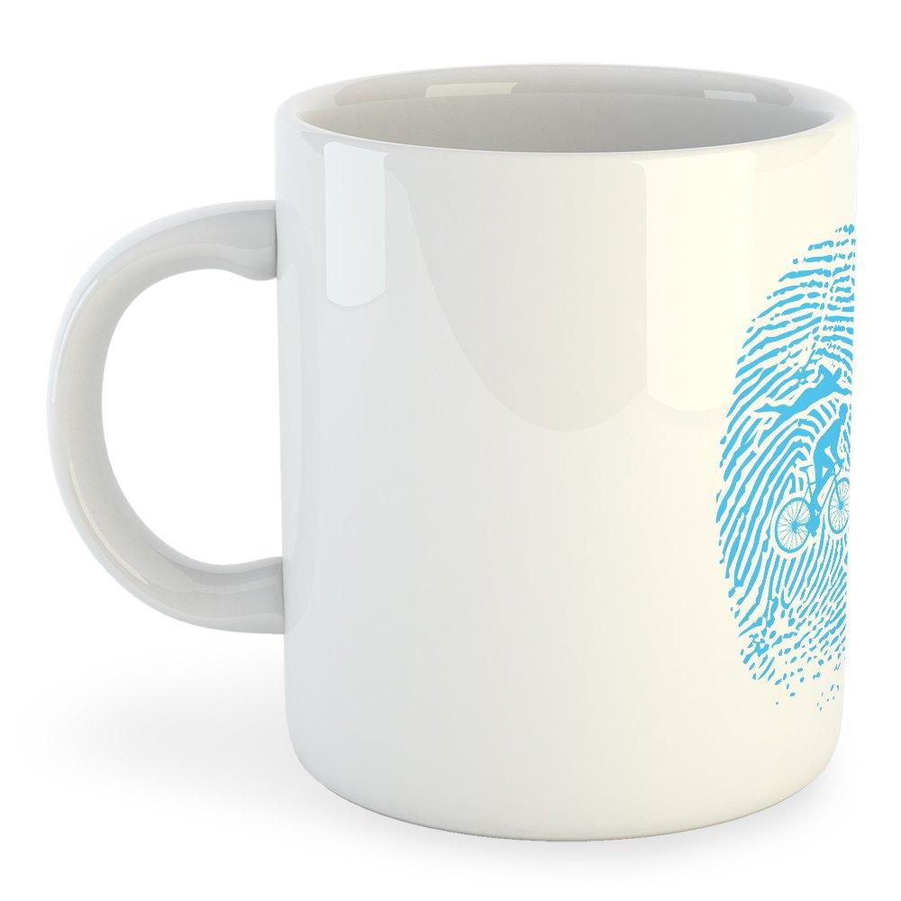 Taza Triathlon Fingerprint