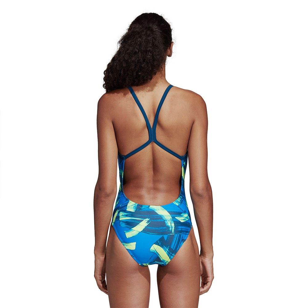 8d478615 adidas Infinitex Fitness Parley Commit Blå, Swiminn