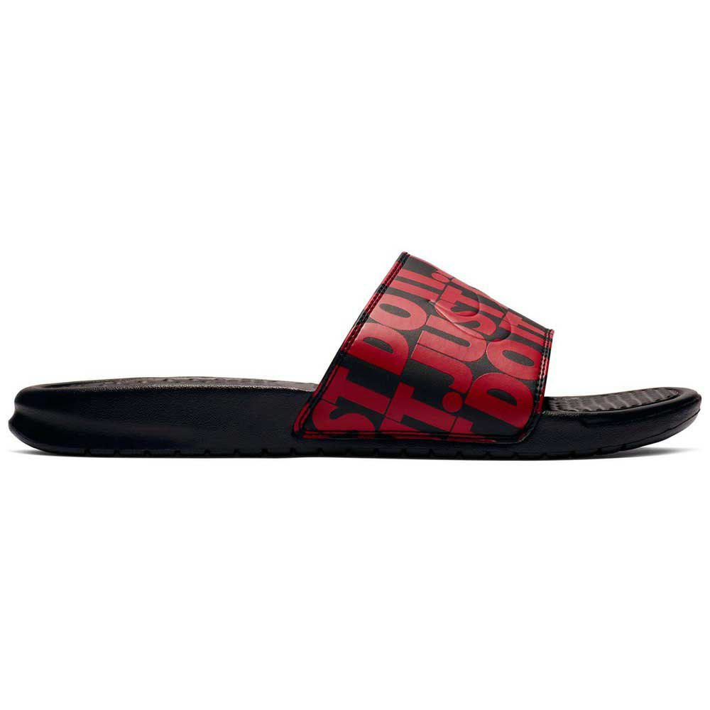 Nike Benassi Just Do It Print Red buy