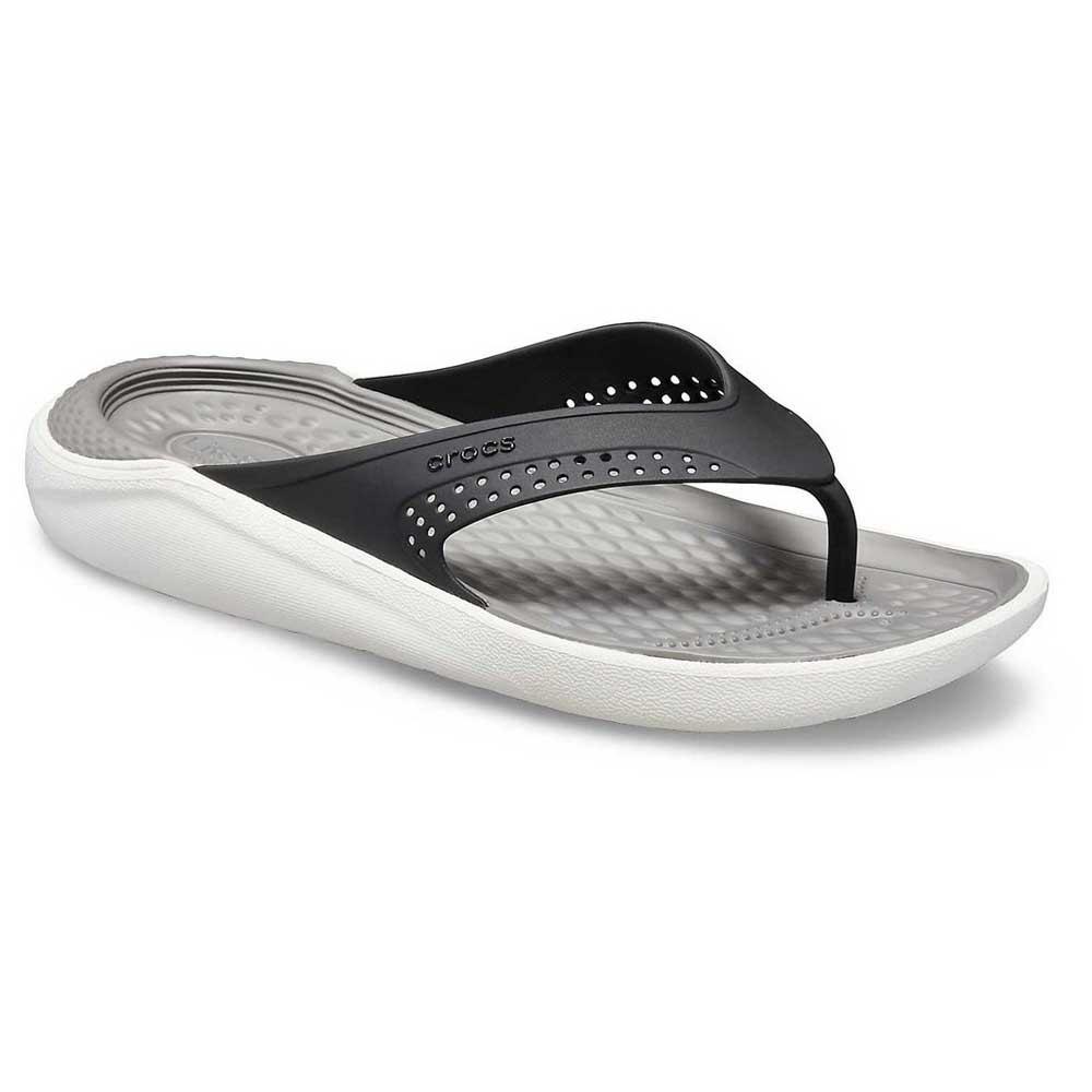 Crocs LiteRide Flip Black buy and