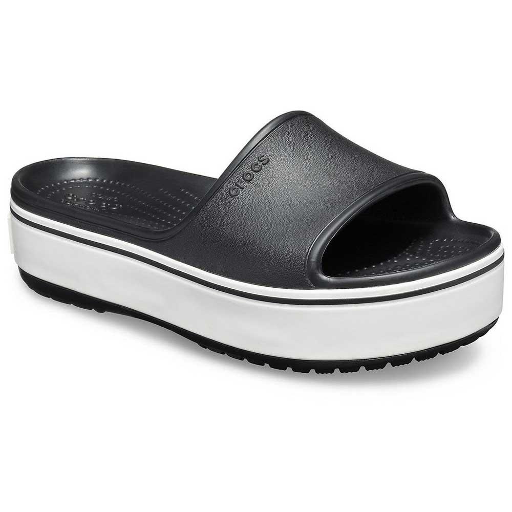 Crocs Crocband Platform Slide Black buy