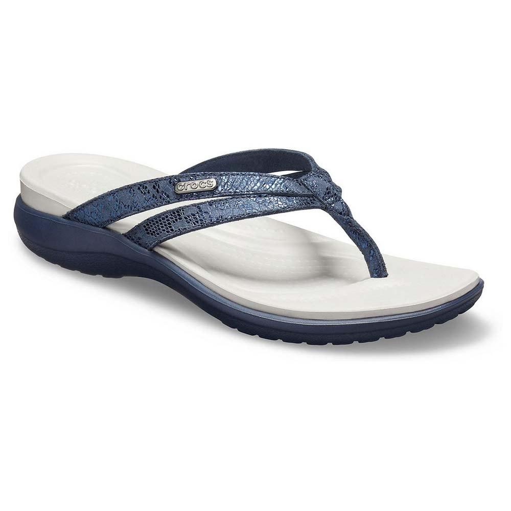 Crocs Capri Strappy Flip Blue buy and