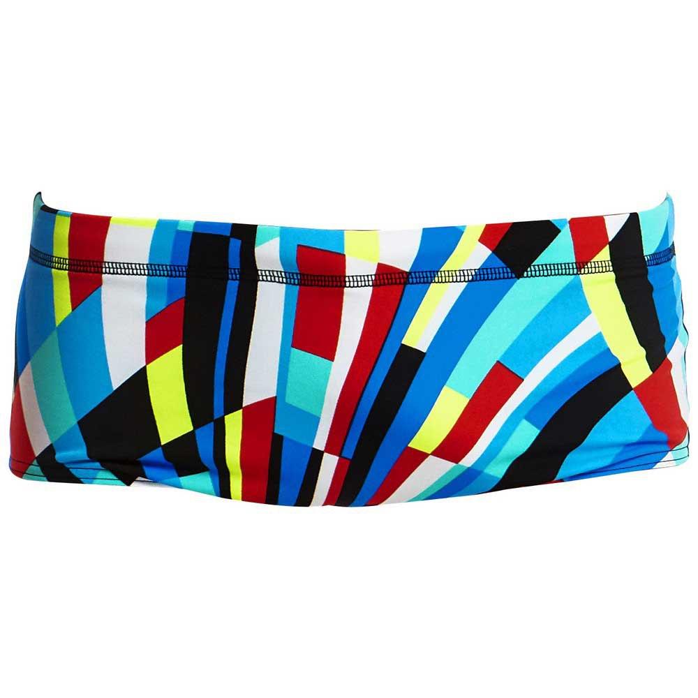 Boys Swimsuit Funky Trunks Boys Block Chain Classic Trunk Swimwear