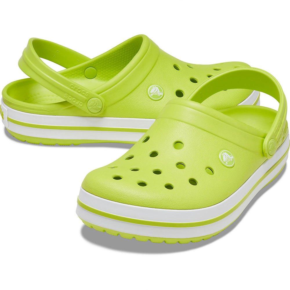 Crocs Crocband 緑購入、特別提供価格
