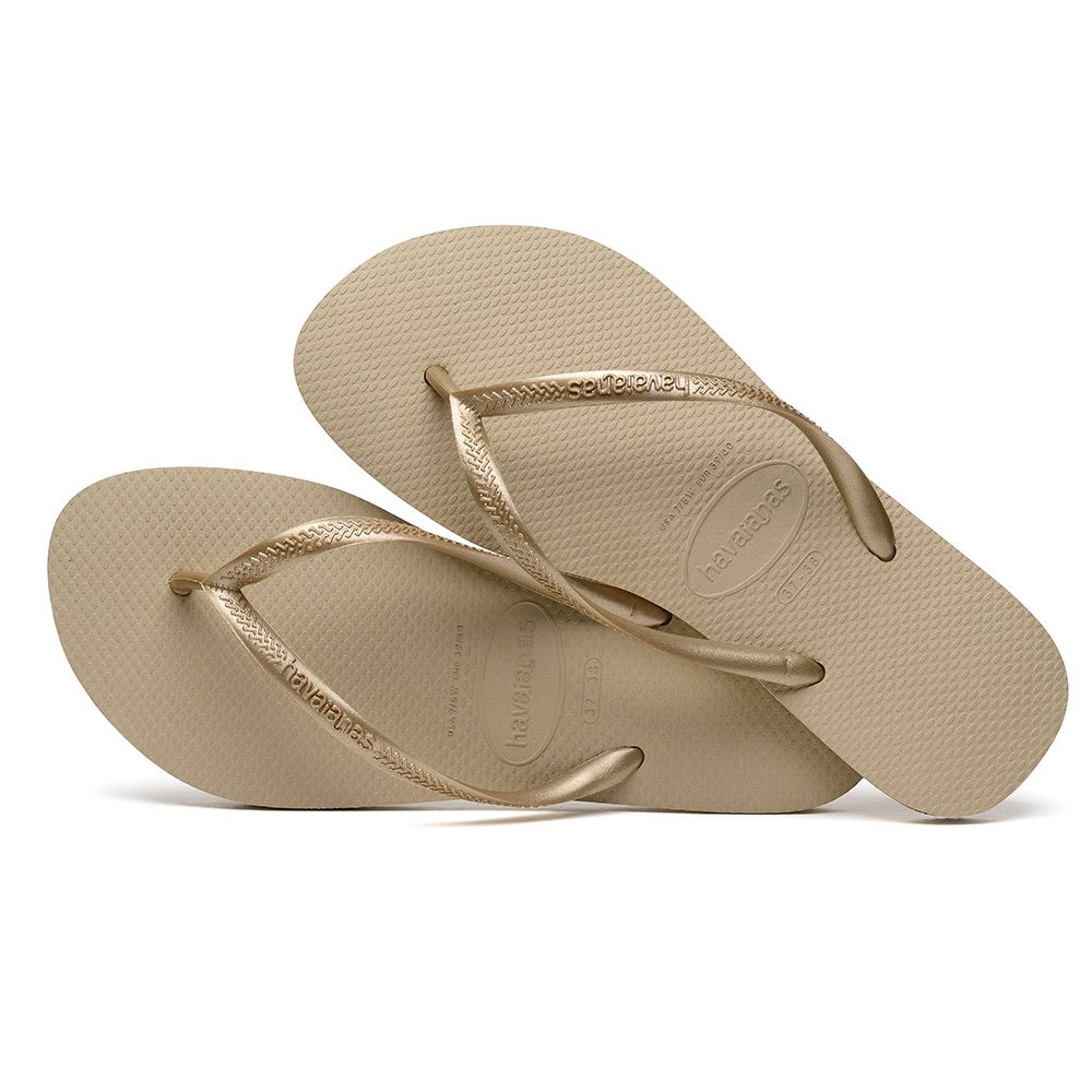 Chinelo Dourado Havaianas feminino | Shoelover